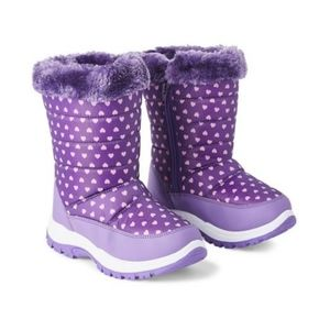 George Girl's Quinn Boots - Purple size 1